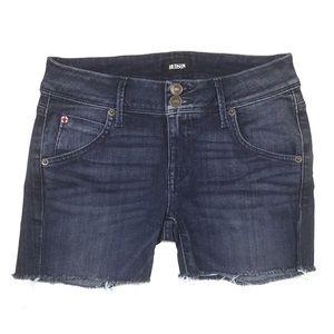 Hudson Cut Off Stretch Jean Shorts